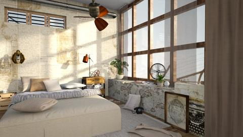 Natural Light - Vintage - Bedroom  - by Chad_dp