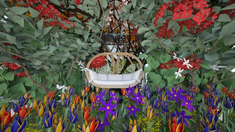 Roof Top Makeshift Garden - Garden - by zoemariemorgan