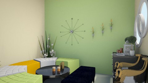 Lucky Charm_Part III - Minimal - Living room  - by Nurul Yunita Sari Ginting