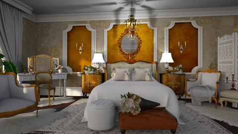 Maximalist Bedroom - by ZsuzsannaCs