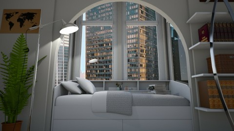 New York Baby - Modern - Bedroom  - by BTS_May