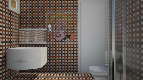 orange - Classic - Bathroom  - by kincso12