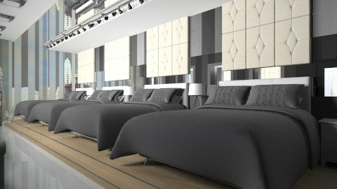 Big Brother Inspired Room - Modern - Bedroom - by yourjieee