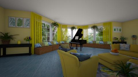 summer room - by Interiors by Laura