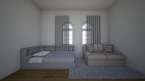 audreys room - Modern - Bedroom  - by avak100261