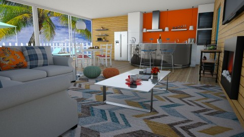 home sweet home - Eclectic - Living room  - by carina68