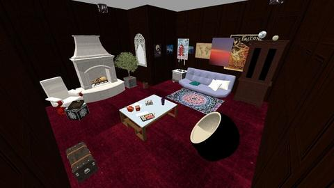 futon - Bedroom  - by skye245