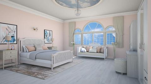 Peach Bedroom - Classic - Bedroom - by Psweets
