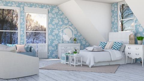 sobre la cama - Bedroom  - by pachecosilv