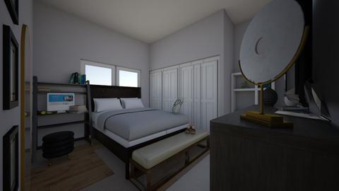 Small Bedroom - Modern - Bedroom  - by Nina_GoodDesign