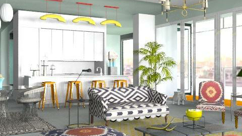 meier room - Eclectic - Living room  - by The_Hunter_and_Gatherer