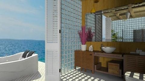 Bathroom in Paradise - Bathroom  - by nikkisp