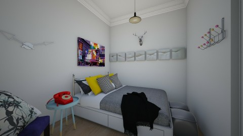Descansos - Retro - Bedroom  - by Adrieel_schn