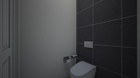 Apt bathroom_toilet  - by saratevdoska