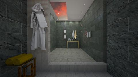 bath skylight - Glamour - Bathroom  - by vallequeen