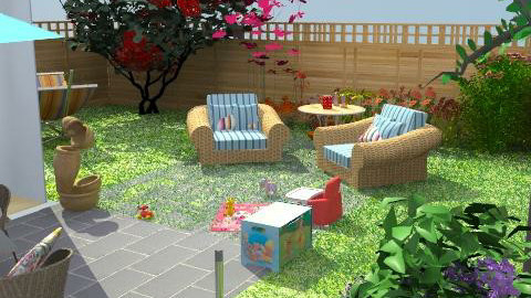 Here comes the sun - Modern - Garden  - by Veeveenatyisy