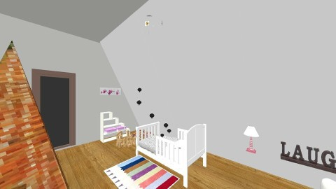 Lauras bedroom - Kids room - by eestee