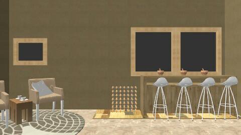 Kitchen - Rustic - Kitchen  - by Chelsc411