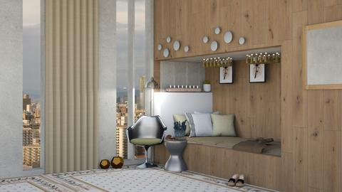 Penthouse Bed - Modern - Bedroom - by lokneszikolbasz