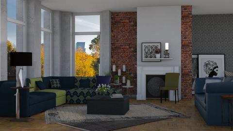 velvet - Living room - by pachecosilv