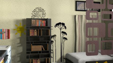 My bed room future could be w kitchen - Retro - Bedroom  - by sabedesign