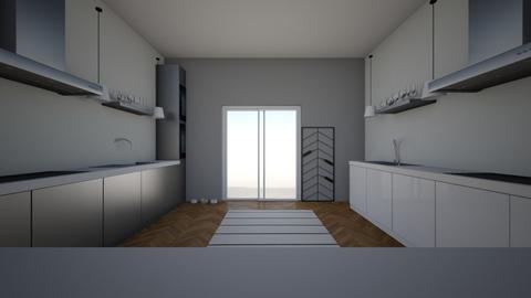 modern kitchen - Kitchen  - by horse4ever