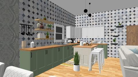 Spring is in the air - Kitchen  - by geeala