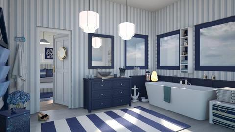 Nautical Bathroom - by milyca8