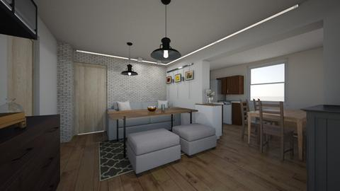 salon rodzice 2 wersja - Living room  - by Sayonara_3