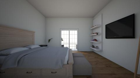 City Bedroom - Modern - Bedroom - by Mynameislaurel