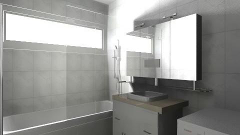 Shuffling Bathroom - Minimal - Bathroom  - by timmyellis