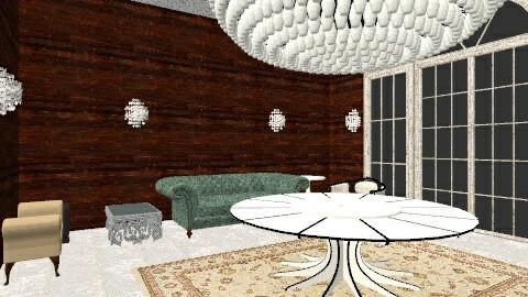 hall - Vintage - Living room  - by luis gustavo