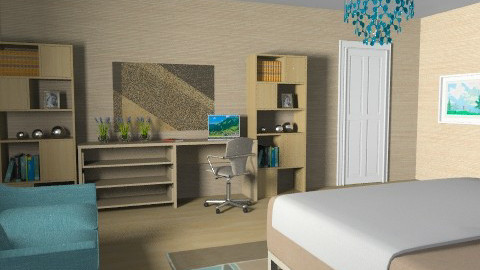 For 3II13da1sy - Eclectic - Bedroom  - by Theadora