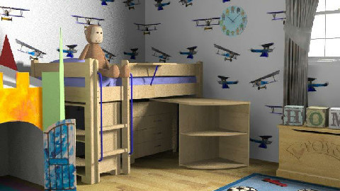 kids room 2 - Glamour - Kids room  - by RedLipSticK