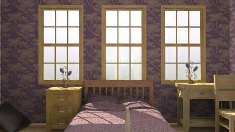 plumed - Rustic - Bedroom  - by LelaMarie Bullock