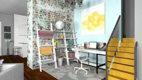 Lynnz HomeOffice - Modern - Office  - by BriaFaith