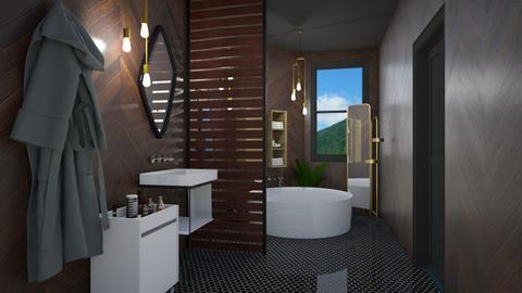 The Darkwood Dip - Modern - Bathroom  - by 3rdfloor