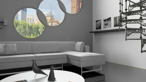 ML_2 - Minimal - Living room  - by milyca8