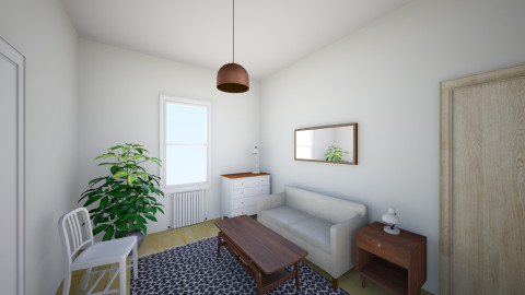 Quinn Living Rom2 - Vintage - Living room  - by qlewington