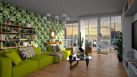 green - Modern - Living room  - by BlueFede