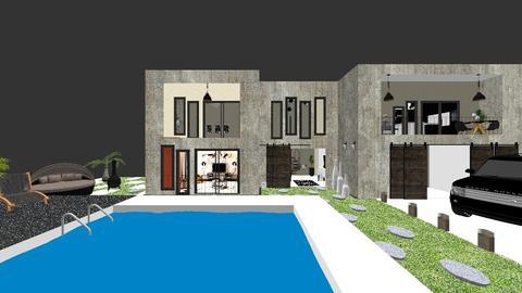 Concret house - Modern - Garden  - by sara andrade