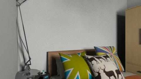 bedroom - Retro - Bedroom  - by dazza1234