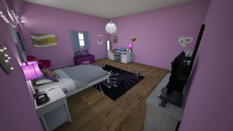 Teen Bedroom - Bedroom - by Paigie6