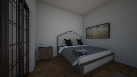 Bedroom - Modern - Bedroom  - by cheyleigh