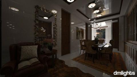 Luna - Dining room - by Danila   Lopes