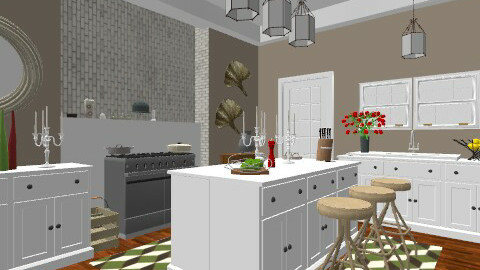Redwood Coffee Blends - Country - Kitchen  - by khddesign