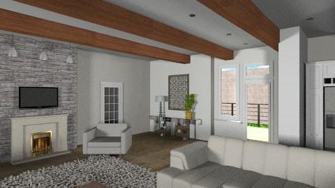 Villa Modern Rustic II - Eclectic - Living room  - by APInteriors