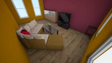 Barn Yard  - Living room - by Becca Scott