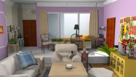 Monica's Living Room - Eclectic - Living room  - by PennyDreadful