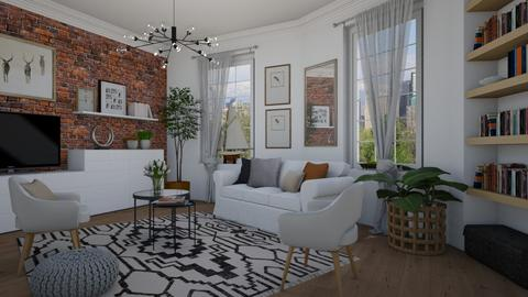 Mixed styles - Living room  - by Tuija